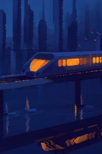 320x568 City Metro Painting