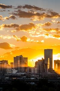 City Morning Sunrise 5k