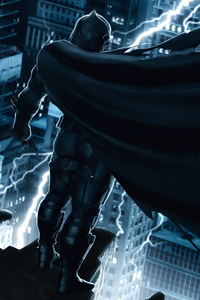 480x800 City Of Batman 4k