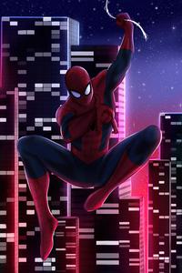 480x800 City Of Spiders 4k