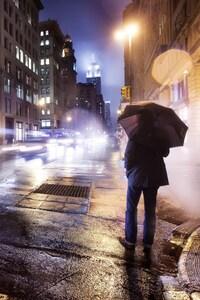 320x480 City Rain