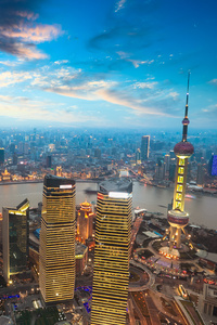 Cityscape Shanghai China Skyscraper 5k