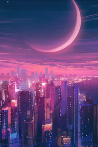 Cityscape Synthwave 5k