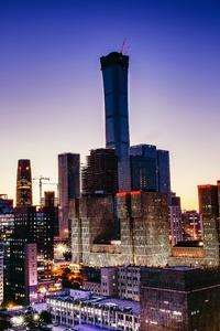 Cityscape Tower Buildings 5k