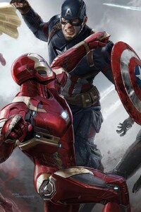 Civil War Movie Art
