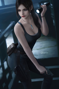 540x960 Claire Redfield Resident Evil 2021