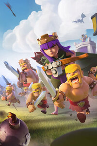 240x400 Clash Of Clans 2017