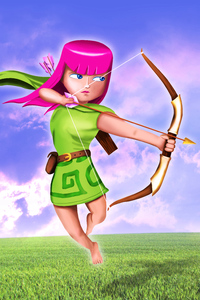 480x800 Clash Of Clans Archer