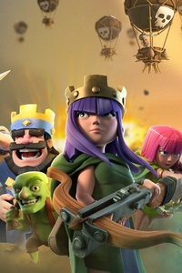 240x400 Clash Of Clans Clash Royale Supercell Games