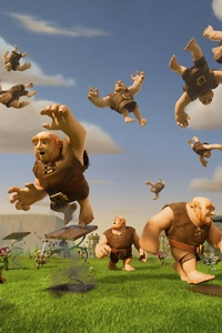 320x480 Clash Of Clans Giants