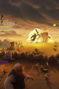 Clash Of Clans Giants War