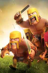 240x400 Clash Of Clans HD