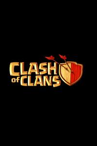 240x400 Clash Of Clans Logo 4k