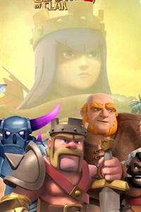 480x800 Clash Of Clans Mobile Game