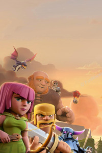 240x400 Clash Of Clans Troops