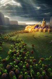 Clash Of Clans Wiz And Goblins