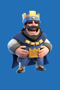 Clash Royale Blue King