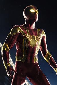 720x1280 Classic Iron Spider Suit 5k
