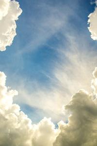 Clean Clouds Sky 4k