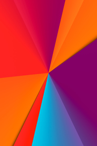 Clean Colors Abstract 8k
