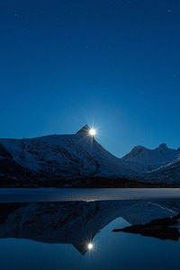 540x960 Clear Sky Night Landscape 4k
