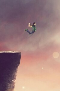Cliff Jump Artwork
