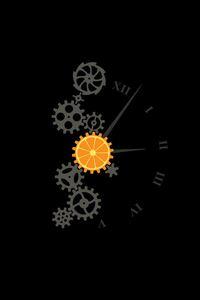 Clock Minimalism