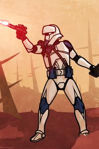 240x400 Clone Wars Star Wars Armor