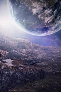1080x1920 Close Planets