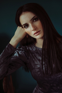 Closeup Girl Portrait 4k
