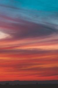 Cloud Orange Burning Sky Texture
