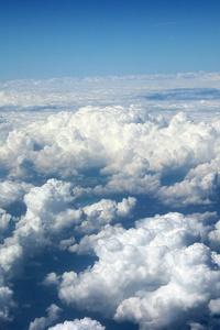 Clouds 5k Horizon Sky
