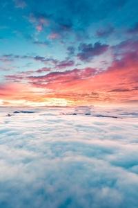 750x1334 Clouds 8k