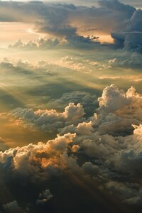 1080x2160 Clouds Aerial View