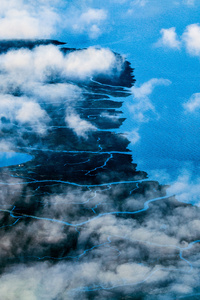 Clouds Landscape View