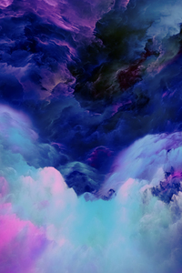 1440x2960 Clouds Performing Abstract
