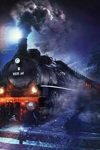 1080x2160 Coal Train
