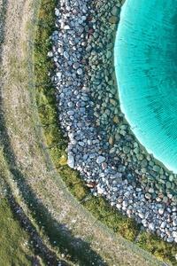 Coast Rocks Stones Waterbody 4k