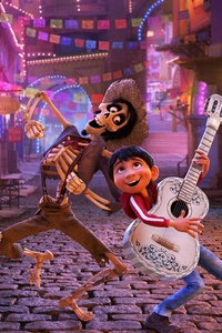 1440x2560 Coco Animated Movie