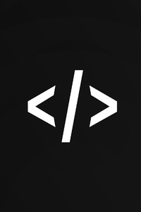 640x1136 Code Syntax Dark Minimal 4k