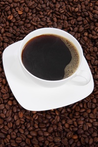 720x1280 Coffee Cup Beans 4k