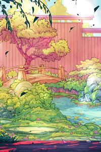 1080x2280 Coldbrew Backyard Gardens 5k