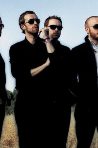 240x400 Coldplay Band
