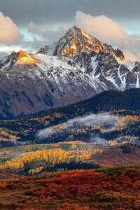 480x800 Colorado Mountains