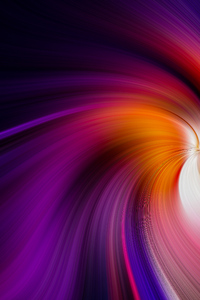 Colorful Abstract Swirl 4k
