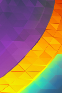 1440x2960 Colorful Artistic Road