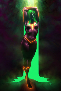 Colorful Batwoman