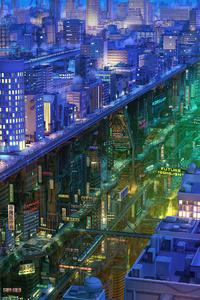 Colorful Cityscape 4k