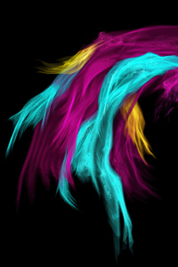 1080x1920 Colorful Feathers Abstract 4k