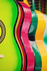 540x960 Colorful Guitar